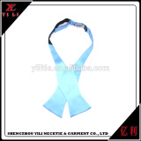 Customized silk woven large mens self tie cheap mens silk bow ties