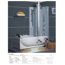 Massage Bathtub with Shower Screen