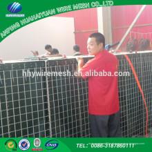 Popular Promotional alta qualidade melhor preço soldado gabiões usados para barreira hesco