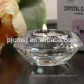 Durable en utilisant le candélabre en verre de cristal de style européen de bas prix sur la vente