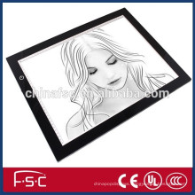 435x320mm active area customize available led light painting tracing board
