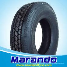 Marando Pneus Para Caminhão e OTR Pneus 285 / 75R24.5 295 / 75R22.5 295 / 80R22.5 Amrecian Mercado