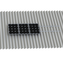 Gewölbte Dach Solar L Haken L Form Kit Solar Panel Mount
