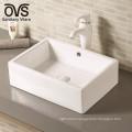 foshan bathroom ceramic above counter sink