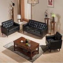 Moderna Simple Cafe y Hotel y sala de estar sofá de cuero