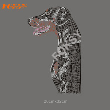 Fabrik Custom Dog Design Strass Transfer