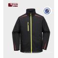 Outdoor winter softshell polar fleece jacket mens softshell jacket with Hooded