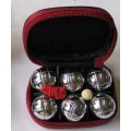 Mini Petanque Chrome Plating Ball Set