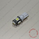 T10 194 W5w Wedge 5SMD 5050 12V Car Interior Bulb