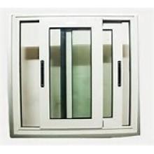 Fenêtre coulissante double de PVC / UPVC de vente chaude de vinyle de haute qualité
