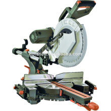 "305mm 2000w Poder de corte de madeira Saw Machine Elétrica 12 ""Sliding Composto Miter Saw"