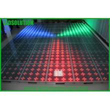 Affichage à LED interactif de plancher de la danse P125mm