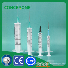 2 Part Syringe Without Rubber Plug