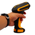 Wireless Handheld barcode QR code scanner with charger