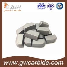Forma especial y tamaño de puntas soldadas de carburo de tungsteno