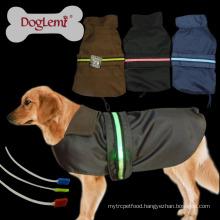 Wholesale Safety LED Pet Cloth LED Dog Jacket Coat