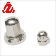 Tuerca hexagonal de acero inoxidable DIN1587