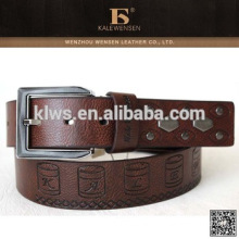 Custom Real Leather Belt Picture