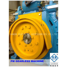 450kg Permanent Magnet Synchronous Gearless Elevator Machine