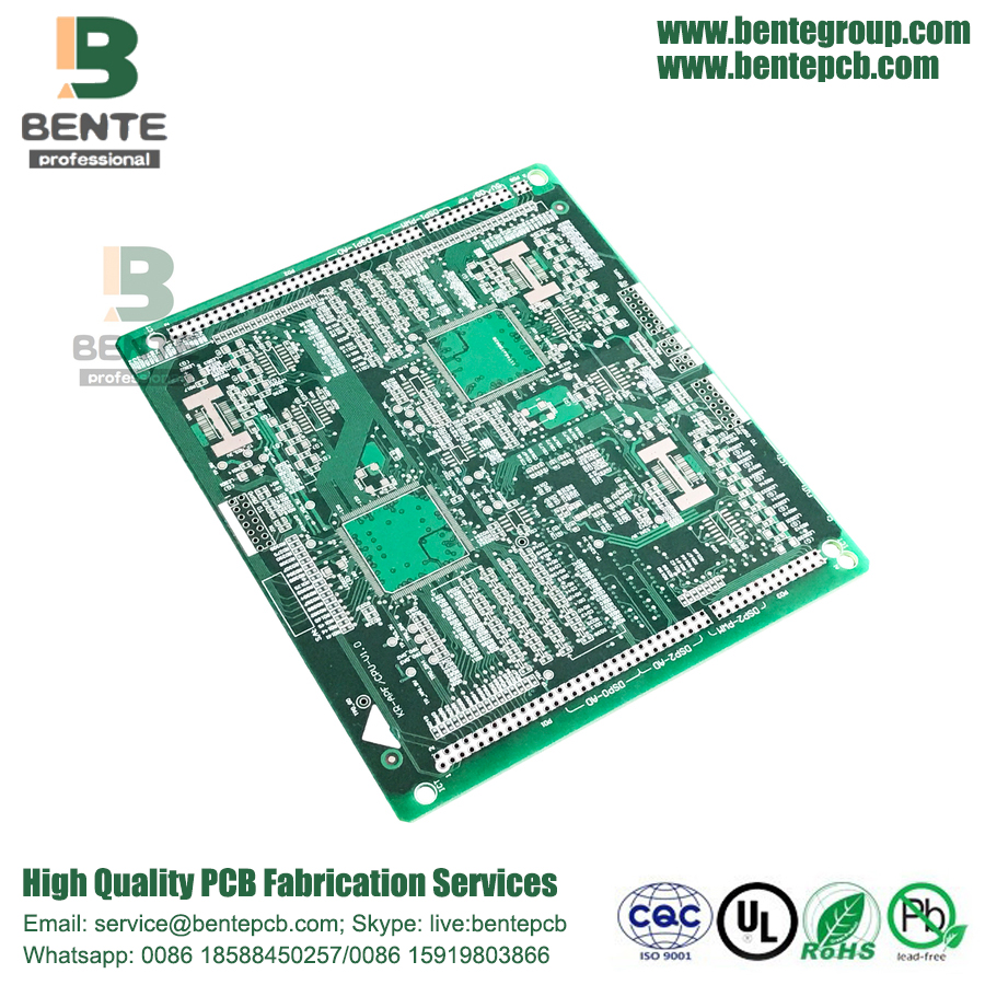 2 couches PCB PCB HASL carte PCB standard FR4 Tg135 sans plomb