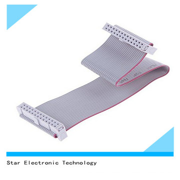 Factory Supply 26 Pin 2.54mm Pitch Electronic Flat Ribbon Cable Wire Harness