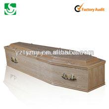 metal golden handles simple coffin