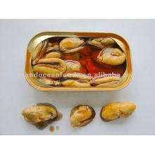 canned mussel in red oil