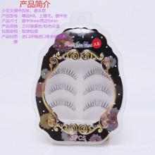 Alibaba 10 years golden supplier 3 pairs handmade false eyelash for distributor