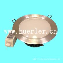 Высокое качество ce & rohs одобренное DC12-24v AC100-240v алюминиевое потолочное освещение 15w для торгового центра