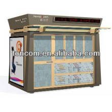 BKH-47 Stahl Information Kiosk Schutz geschnitten