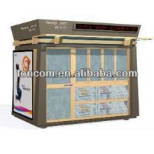 Abrigo de quiosque de informações de aço BKH-47 personalizado