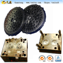 PA+GF plastic shower head shell injection mould