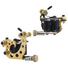 2016 hot sale china stainless steel 10 coils small tattoo machine