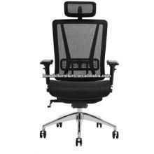 T-086A-M nouveau design ergohuman chaise avec ascenseur lombaire