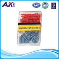 50PCS Plastic Anchor and Self Tapping Screw Kit