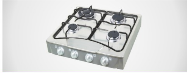 Stainless Steel 4-Burners Gas Stove
