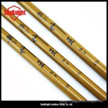 Canne à mouche en bambou fabriqués à la main des cannes à pêche mouche