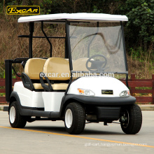 EXCAR 48V 4 Seater Electric Fuel Type golf cart, Trojan Battery golf buggy cart for sale