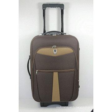 Shandong Silk Soft EVA Outside Trolley Travel Luggage Suitcase