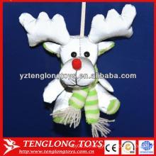 НОВЫЙ ДИЗАЙН Рождественский рефлексивный плюшевый игрушечный отражающий игрушечный лось