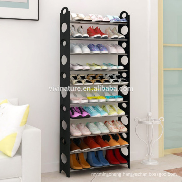 8 Tier Free Standing Shoe Rack Stand Storage Organiser Shelf Rack