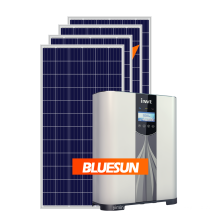 BLUESUN Best Price 5KW 5000Watts Hybrid Solar panel System with charger