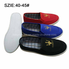New Style Fashion Men′s Slip on Casual Canvas Shoes (MP16721-10)