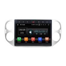 Sistema de mídia de carro Android 8.0 para Tiguan 2015