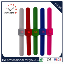 Montre multifonctionnelle de silicone de slap de sports de sports (DC-092)