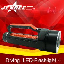 Mächtigste LED-Taschenlampe 4 * cree regensichere beste cree LED-Taschenlampe