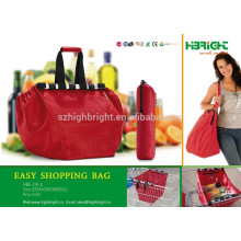 Reusable shopping cart bags trolley bags for shopping