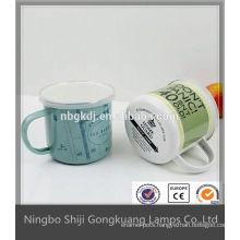 personalized gift-printing enamel mug