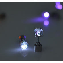 Fashion Light up Led Earrings With Crystal