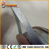 Flexible tinned copper braided sleeving with crimping terminal